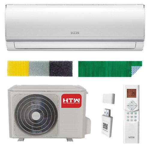 Aire acondicionado 1x1 htw ix39b r32 2000f+filtro+wifi