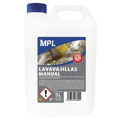 Lavavajillas manual mpl 5l