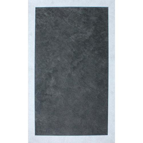 Alfombra interior/exterior vinilo teplon jacquard carbón / perla 120 x 180cm