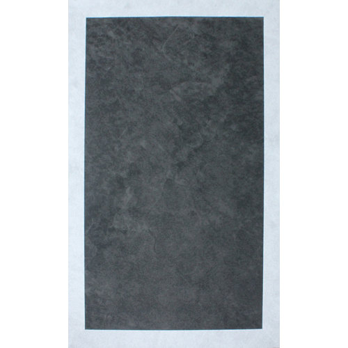 Alfombra interior/exterior vinilo teplon jacquard carbón / perla 160 x 230cm