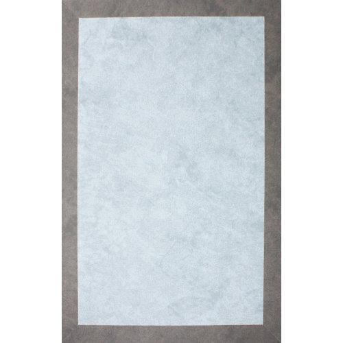 Alfombra interior/exterior vinilo teplon jacquard cuarzo / arena 160 x 230cm