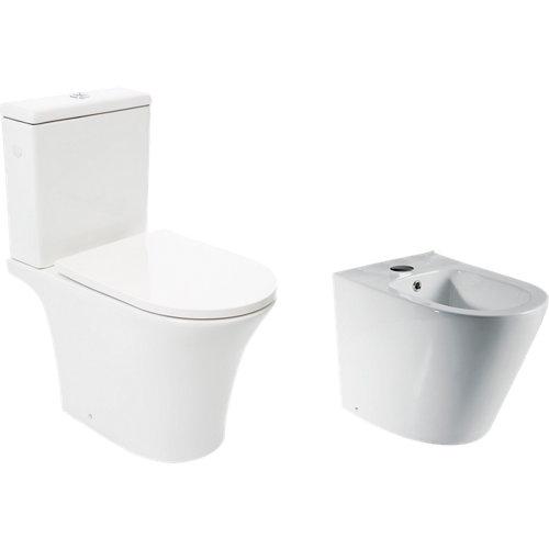 Pack wc sensea lisso con tapa amortiguada
