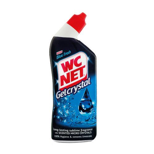 Gel crystal blue fresh wcnet 750ml
