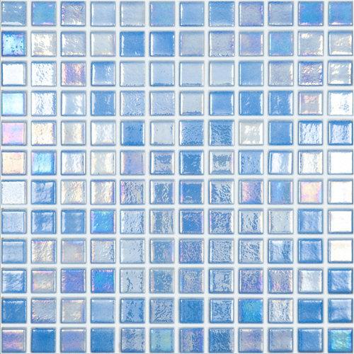 Gresite shell azul para suelo y pared de 2.5xcm