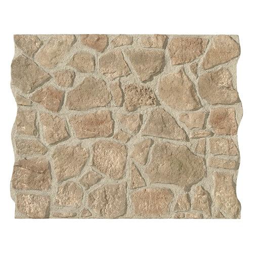 Revestimiento decorativo piedra natural serie cuenca 118x93 cm gris