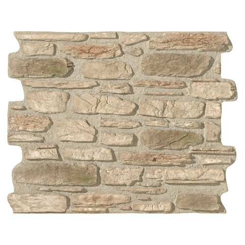 Revestimiento decorativo piedra natural serie galicia 118x93 cm gris