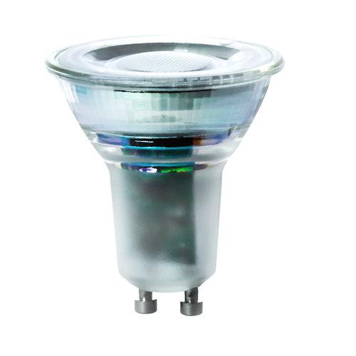 Bombilla led estándar con casquillo gu10 de 6000k