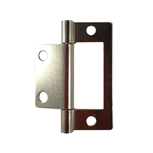 Bisagra plana s/encaste para puerta o mueble de 50 mm