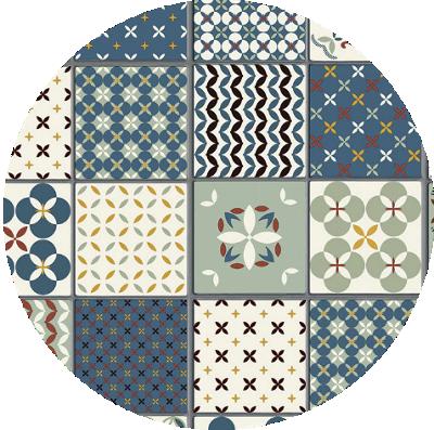 Imitación azulejos
