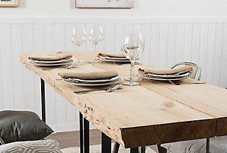 Construye una mesa de comedor rústica · LEROY MERLIN