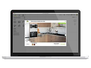 Tu planificador de cocinas en 3D · LEROY MERLIN