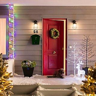 Puertas navideñas decoradas · LEROY MERLIN