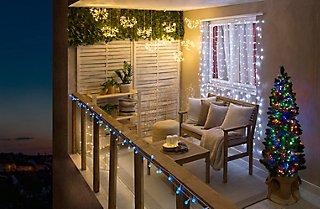Ilumina tu balcón en Navidad y comparte tu ilusión · LEROY MERLIN