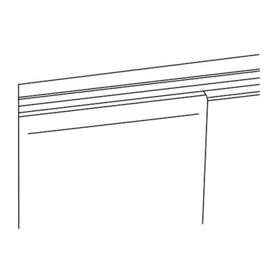 Cortinas con cinta autoadherente