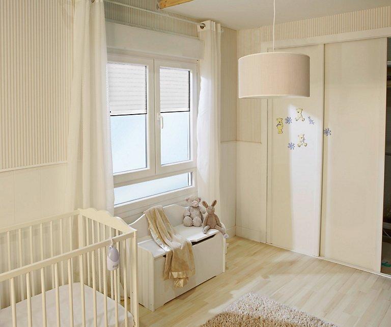 ideas de almacenamiento de la habitación del bebé La Habitacin Del Beb Un Espacio Seguro LEROY MERLIN